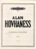 Hovhaness, Alan : Twelve Armenian Folk Songs Op. 43