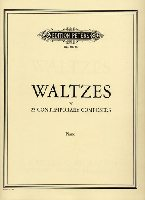 Tower, Joan : Red Garnet Waltz (In Collection: Waltzes by 25 Contemporary Composers)