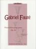 Fauré, Gabriel : Pièces brèves