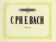 Bach, Carl Philipp Emanuel : Selected Works Vol.1: