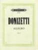 Donizetti, Gaetano : Allegro in F
