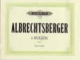 Albrechtsberger, Johann Georg : 6 Fugues Op.7