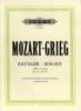 Mozart, Wolfgang Amadeus / Grieg, Edvard : Sonata in C minor K457 (with Fantasia K476)