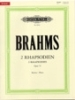 Brahms, Johannes : 2 Rhapsodies Opus 79