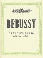 Debussy, Claude : 6 Epigraphes antiques