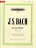 Bach, Johann Sebastian : Concerto No.1 in D minor BWV 1052