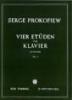 Prokofiev, Sergei : Vier Etüden (Complete) Op.2