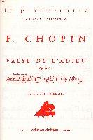Chopin, Frédéric : Valse en ré bémol Opus 64 n° 1