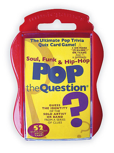 Pop The Question : Soul, Funk And Hip Hop (Pocket Edition)