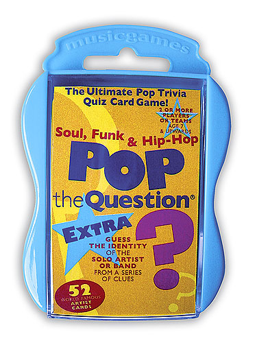 Pop The Question : Soul, Funk And Hip Hop EXTRA (Pocket Edition)