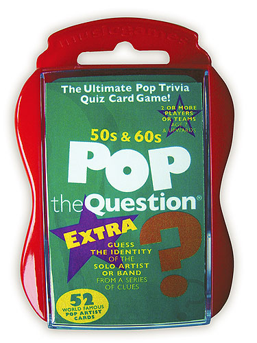Pop The Question : 50s and 60s EXTRA (Pocket Edition)