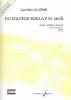 Allerme, Jean-Marc : Du Solfege sur la F.M. 440.6 - Chant / Audition / Analyse - Elève - Livre Seul