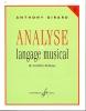 Girard, Anthony : Analyse du langage musical - volume 1 : de Corelli à Debussy