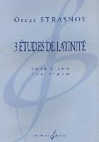 Strasnoy,Oscar : 3 Etudes de Latinité