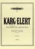 Karg-Elert, Sigfrid : 14 Interludes or Postludes in various keys