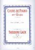 Lack, Théodore : Cours de Piano de Mlle Didi : Etudes - Volume 1
