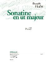 Hahn, Reynaldo : Sonatine en ut Majeur pour Piano