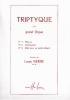 Vierne, Louis : Triptyque Op.58