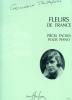 Tailleferre, Germaine : Fleurs de France