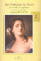 Bonnardot, Jacqueline : Les Classiques du Chant - Soprano - Volume 2