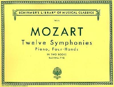 Mozart, Wolfgang Amadeus : 12 Symphonies - Book 2: Nos. 7-12