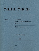 Saint-Saens, Camille : Cavatine for Trombone and Piano op. 144