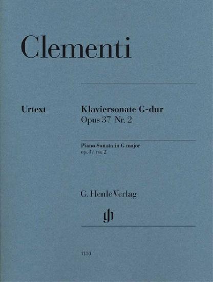 Clementi, Muzio : Piano Sonata G major op. 37 no. 2