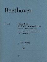 Beethoven, Ludwig Van : Rondo in B flat major WoO 6 for Piano and Orchestra