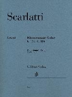 Scarlatti, Domenico : Sonate pour piano en Ut majeur K. 159, L. 104