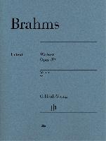 Brahms, Johannes : Johannes Brahms : Valses op. 39