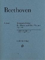 Beethoven, Ludwig Van : Serenade op. 41 for Piano and Flute (Violin)