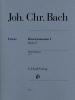 Sonates pour piano Opus 5 / Piano Sonatas Opus 5 (Bach, Johann Christian)