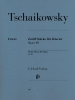 Douze pièces pour piano Opus 40 / Twelve Piano Pieces Opus 40 (Tchaïkovsky, Piotr Ilitch)