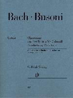 Bach, Jean-Sébastien / Busoni, Ferruccio : Chaconne, extraite de la Partita n° 2 en ré mineur