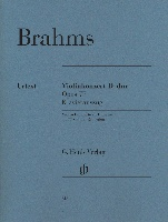 Brahms, Johannes : Violin Concerto in D major Opus 77 - Piano Reduction