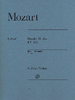Mozart, Wolfgang Amadeus : Rondo en Re majeur K. 485