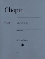 Pièces pour piano / Piano Pieces (Chopin, Frédéric)