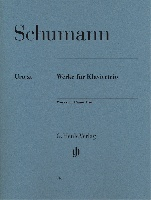 Schumann, Robert : Works for Piano Trio