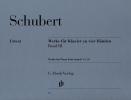 ?uvres pour pianos quatre mains - Volume 3 / Works for Piano four Hands - Volume 3 (Schubert, Franz)