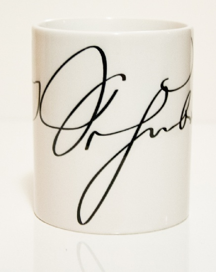 Mug Signature de Schubert [Mug Schubert\'s Musical Signature]