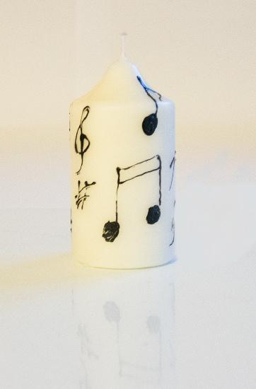 Bougie Ronde - Petit Modèle [Candle]