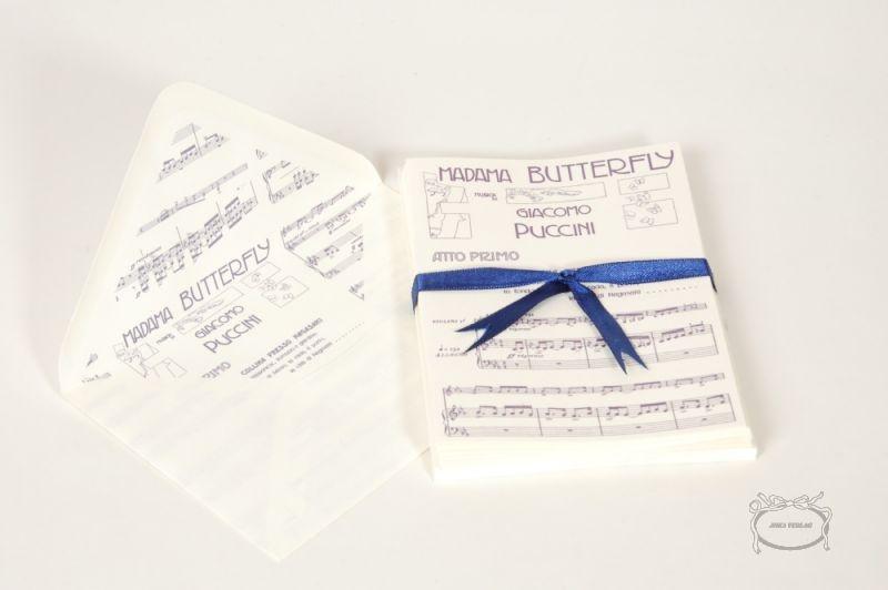 Papier à lettre Madame Butterfly