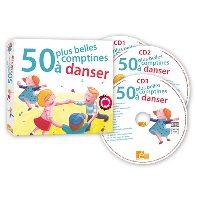 50 Plus Belles Comptines à Danser