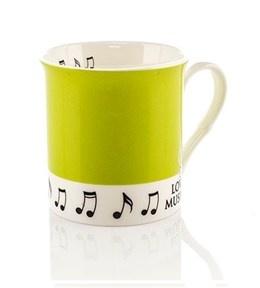 Colour Block Mug - Pea Green