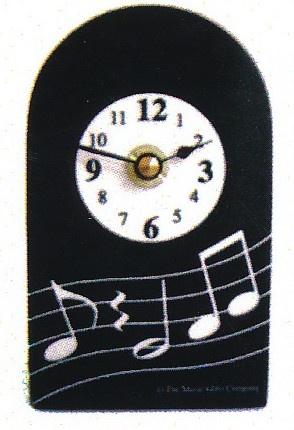 Horloge - Wavy Music Mini Clock