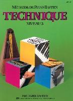 Bastien, James : Méthode de Piano Bastien : Technique Niveau 3