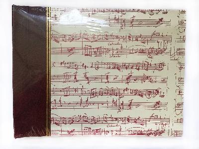 Album Photo Mozart (Bordeaux - Crème)