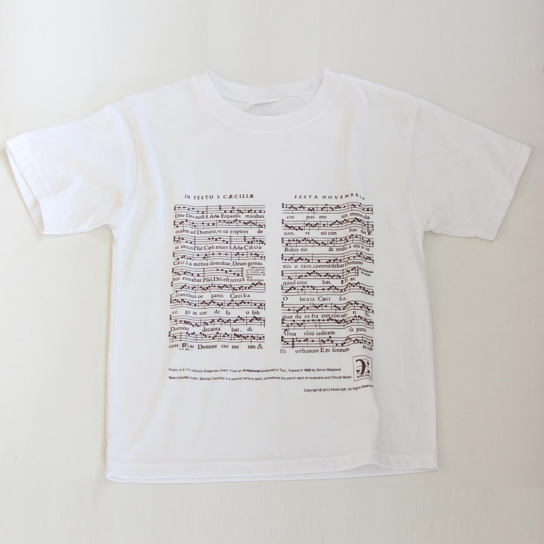 T-shirt Sainte Cécile - Blanc - Tailles S - M - L - XL [Sweater St Cecilia - White - S - M - L - XL]