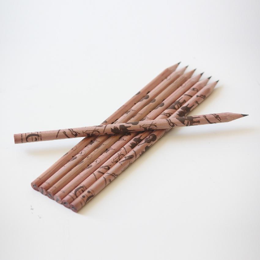 Crayon à Papier Instruments de Musique  [Pencil - Instruments (Wood)]