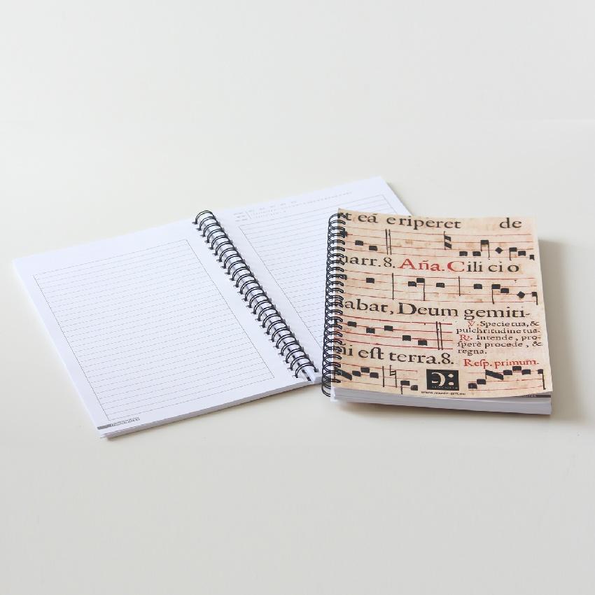 Bloc-Notes Sainte Cécile + Agenda Perpétuel - Format A5 [Notebook St. Cecilia + Perpetual Aganda - A5 ]